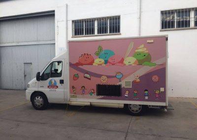 Rotulación de Camión en Vinilo Impreso y Laminado